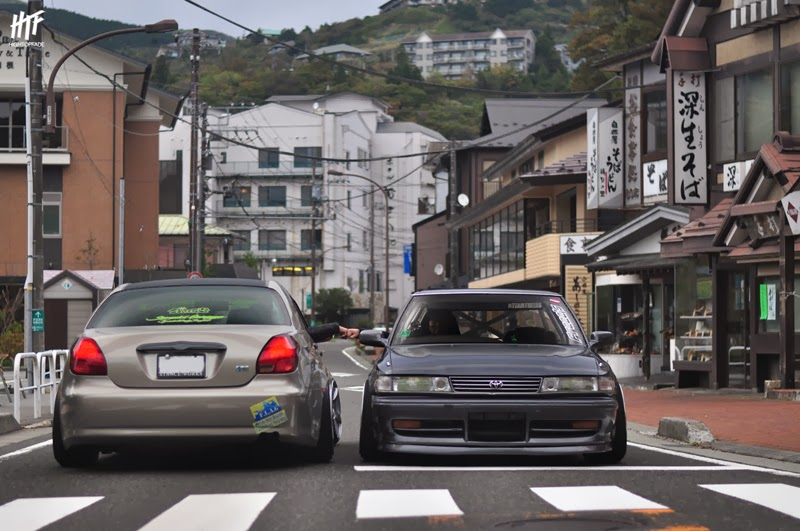 Toyota Verossa and Mark II