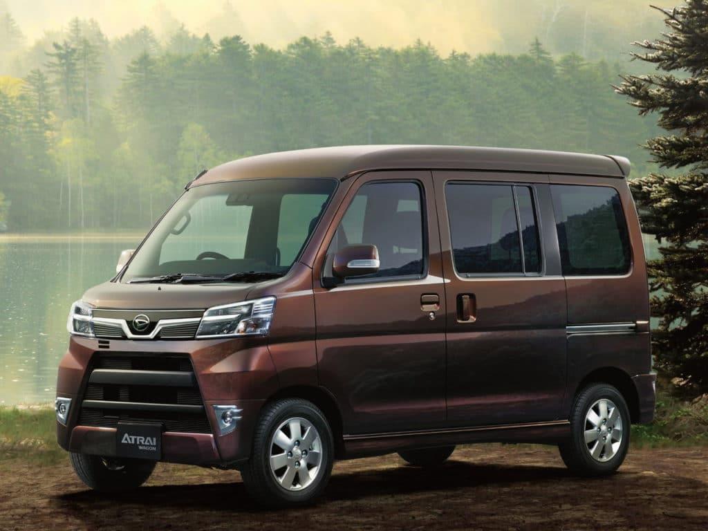 Daihatsu Atrai II Рестайлинг 2
